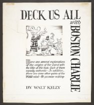 Image of Deck Us All with Boston Charlie - Kelly, Walt, 1913-1973